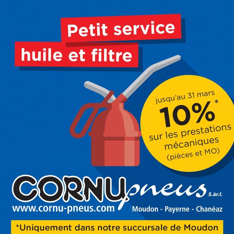 CORNU PNEUS - LE SPÉCIALISTE PNEUMATIQUES