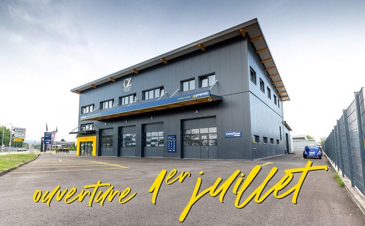 Cornu Pneus - nouveau bâtiment à Payerne